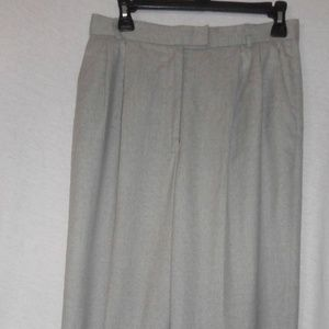 Worth Petite Size 10 Light grey lined dress pants